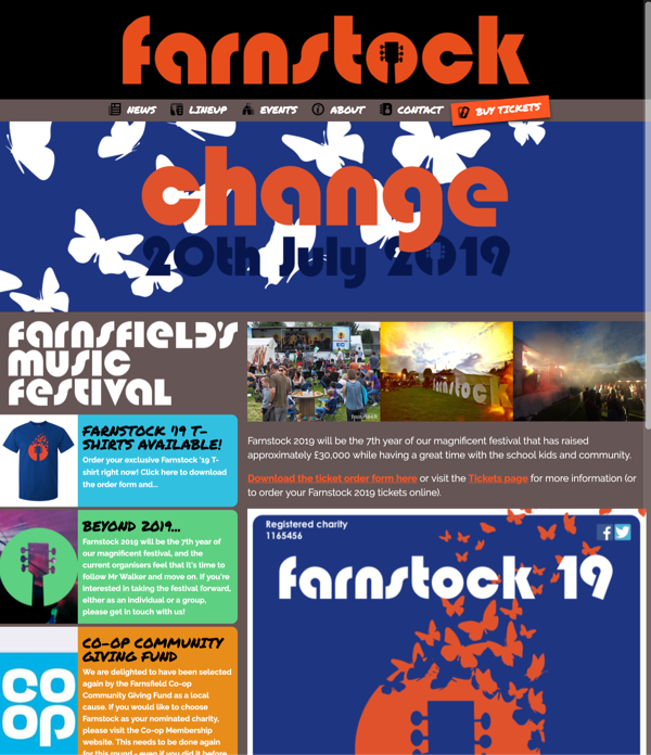 Farnstock website